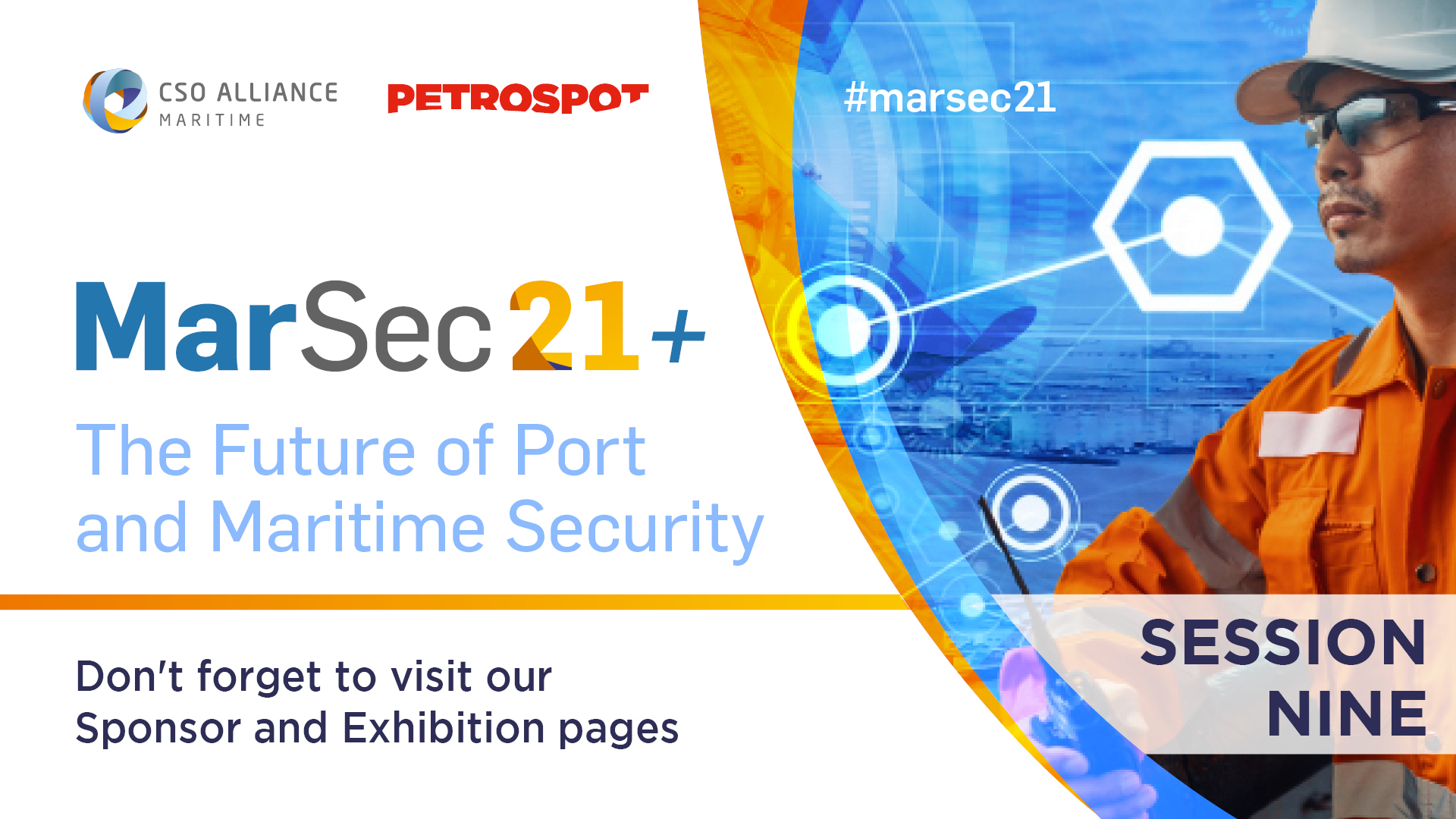 MarSec 21+ Session 9: Addressing Vessel and Port Cyber Security